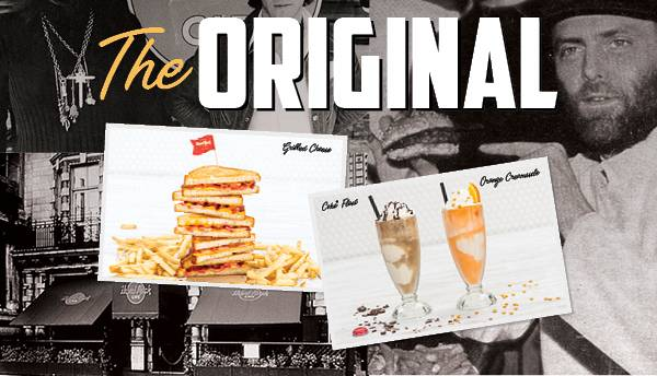 Evento The original Hard Rock Cafe menu: taste the classic! Hard Rock Cafe