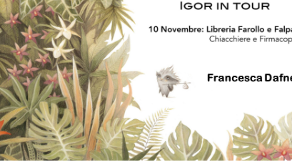 Evento Igor in Tour  Libreria Farollo e Falpalà