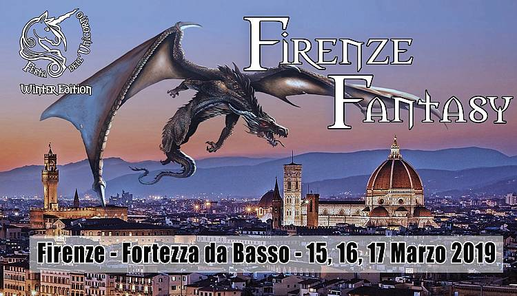 Evento Firenze Fantasy - Festa dell'Unicorno Winter Edition Fortezza da Basso