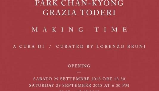 Evento Making Time  Galleria Poggiali