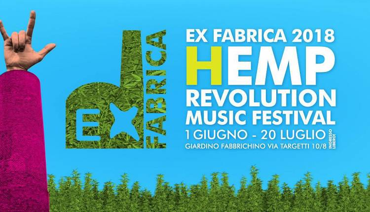 Evento Ex Fabrica: 'Hemp Revolution' Teatro Fabbrichino