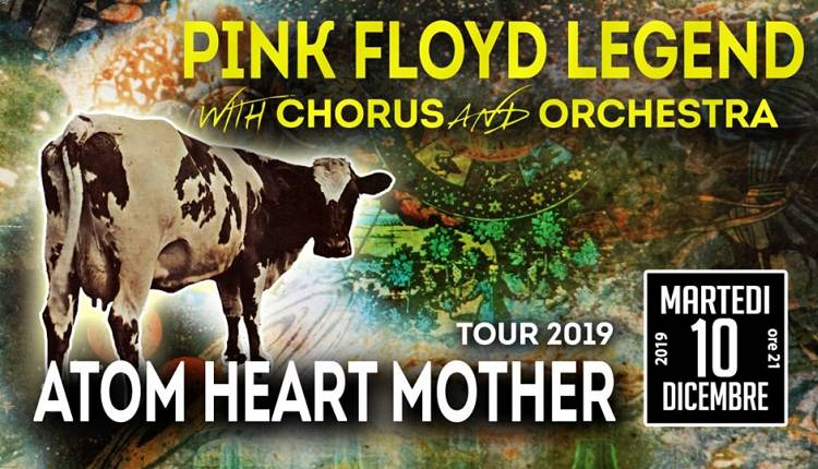 Evento Pink Floyd Legend - Atom Heart Mother Teatro Verdi