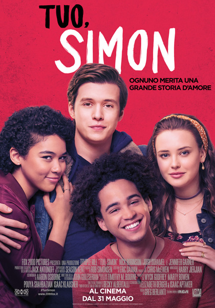 Locabdina film: Love, Simon