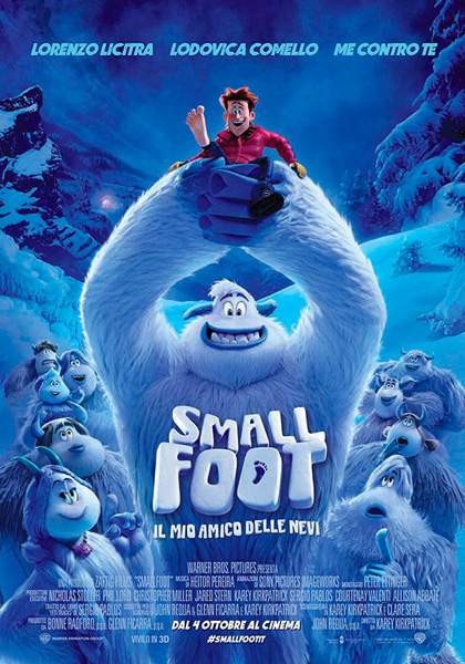 Locabdina film: Smallfoot