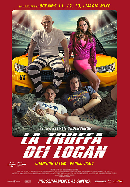 Locabdina film: Logan Lucky