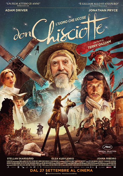 Locabdina film: The Man Who Killed Don Quixote