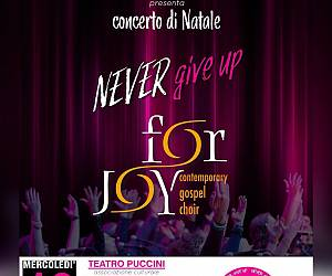 Evento Concerto di Natale For Joy Contemporary Gospel Choir - Teatro Puccini