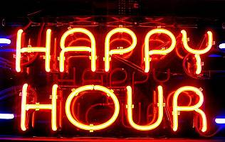 Drink a metà prezzo durante l'happy hour? -