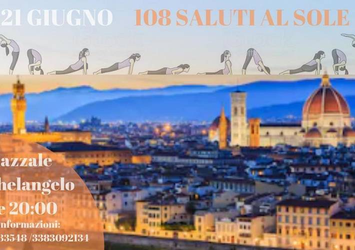 Evento Yoga day - Piazzale Michelangelo