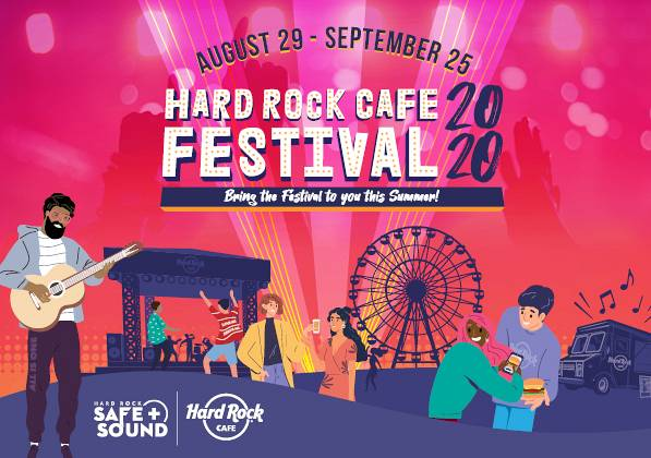 Evento Hard Rock Cafe festival 2020 - Hard Rock Cafe