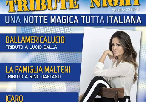 Evento ​Concerto 7° edizione Tribute Night - Teatro Obihall