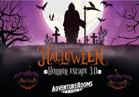 Evento Halloween Horror Escape 3. - Adventure Rooms Firenze