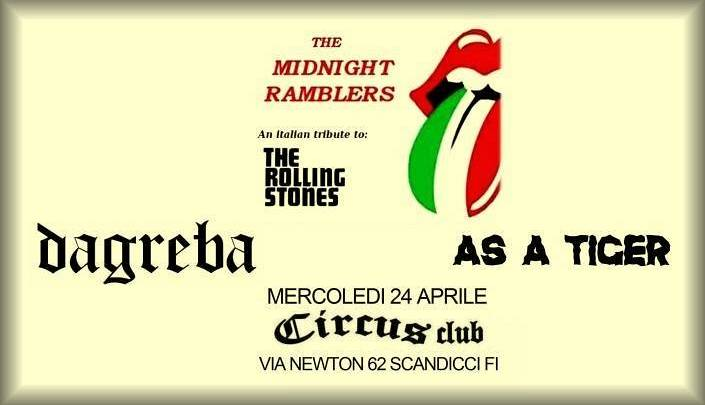Evento The Midnight Ramblers Circus Club