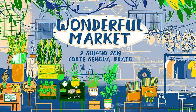 Evento WOM Wonderful Market in Corte Genova Corte di Via Genova