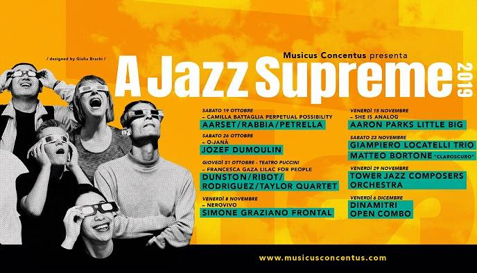 Evento A Jazz Supreme 2019  Sala Vanni