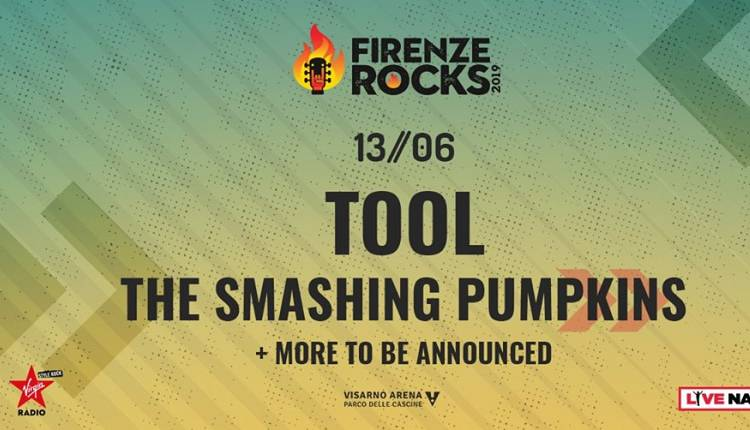 Evento Firenze Rocks 2019: The Smashing Pumpkins Ippodromo del Visarno