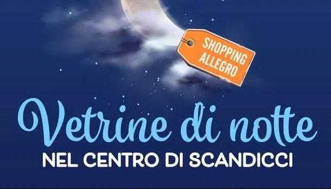 Evento Vetrine di notte: a Scandicci arriva l'estate  Comune di Scandicci