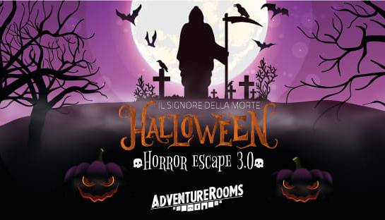 Evento Halloween Horror Escape 3.0 Adventure Rooms Firenze