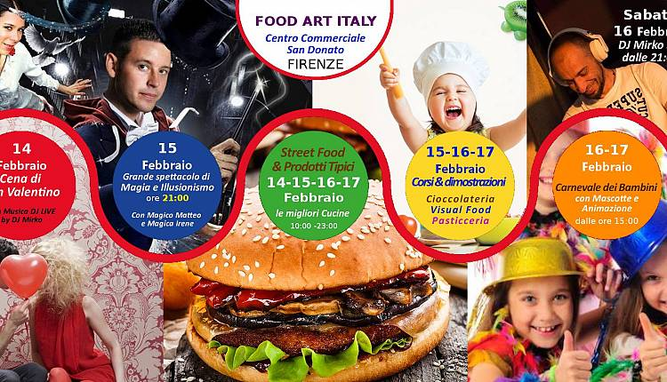 Evento Food Art Italy Firenze Centro San Donato